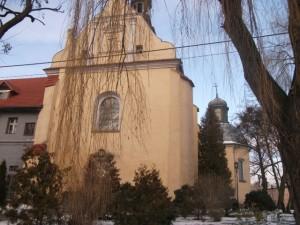Szamotuły kościół pofranciszkański