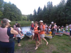 Drawieński Park Narodowy / spływ Drawą